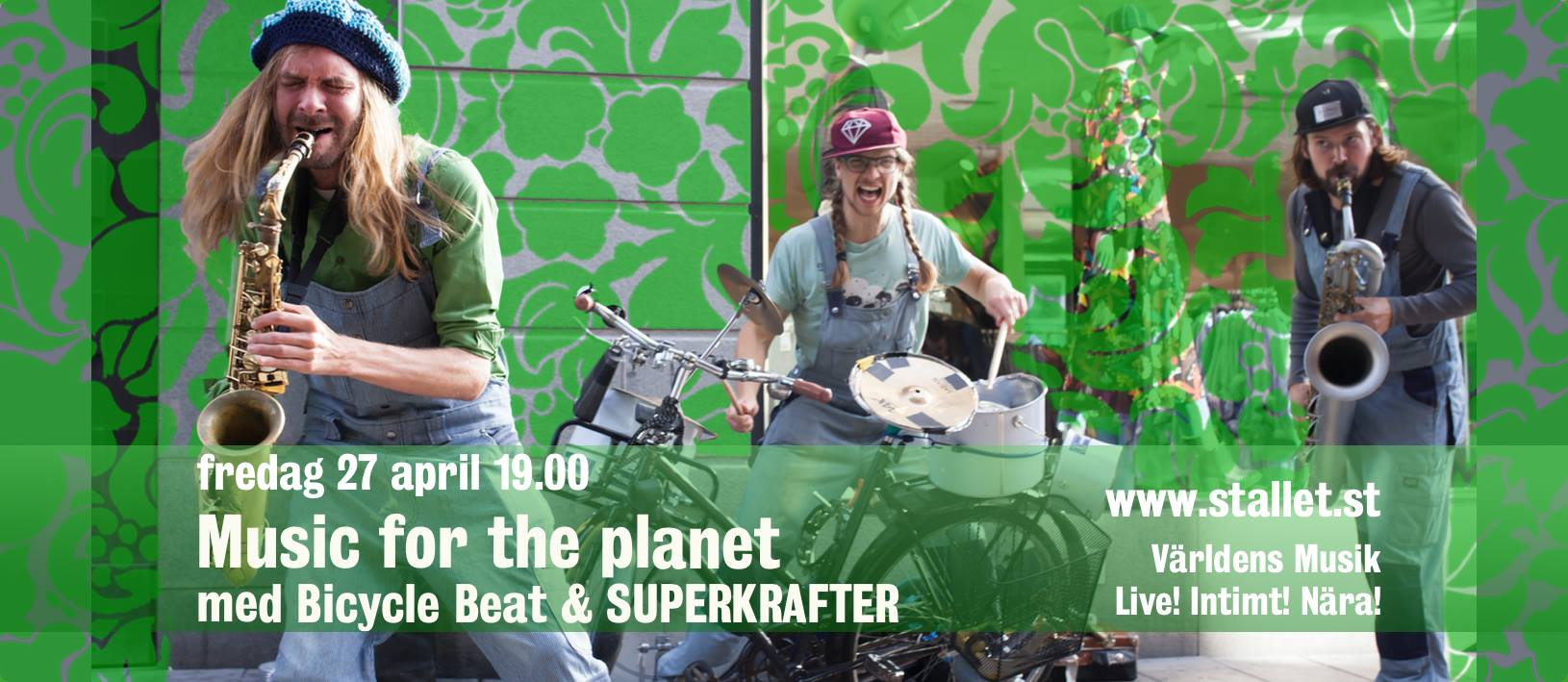Bicycle Beat Music for the planet