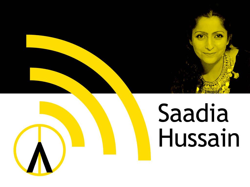 Saadia Hussain podd artivist konstnär
