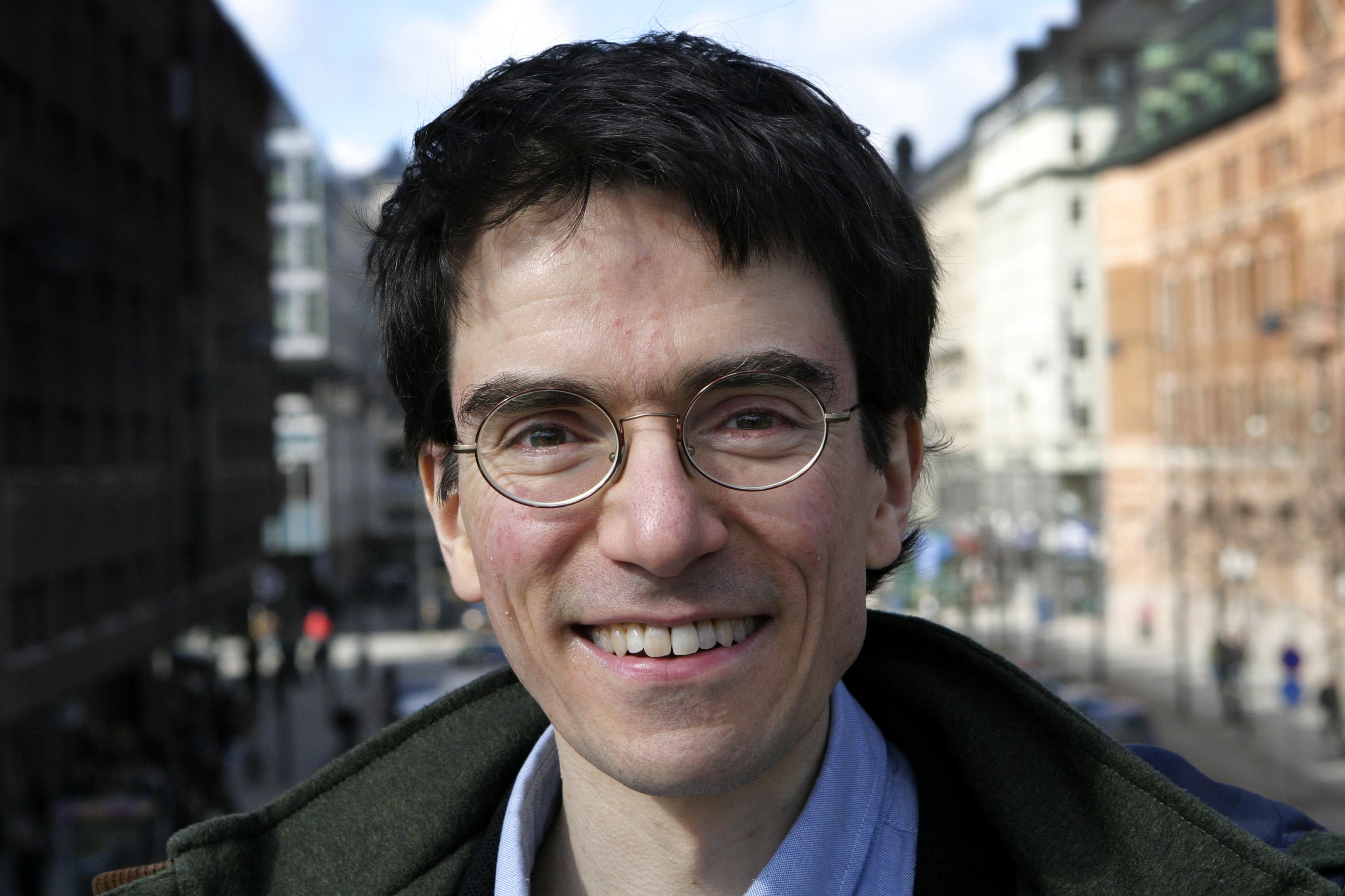 Civilkurageforskaren Brian Palmer. Foto: Martin Cejie.
